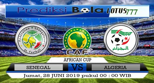 PREDIKSI SENEGAL VS ALGERIA 28 JUNI 2019