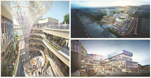 Atrium P4 Mall Korea Selatan