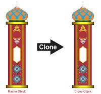 Desain Cepat dengan Clone Tool CorelDraw