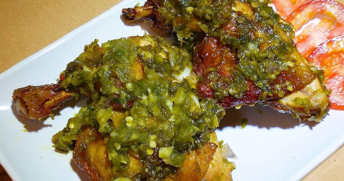 ayam goreng cabe hijau