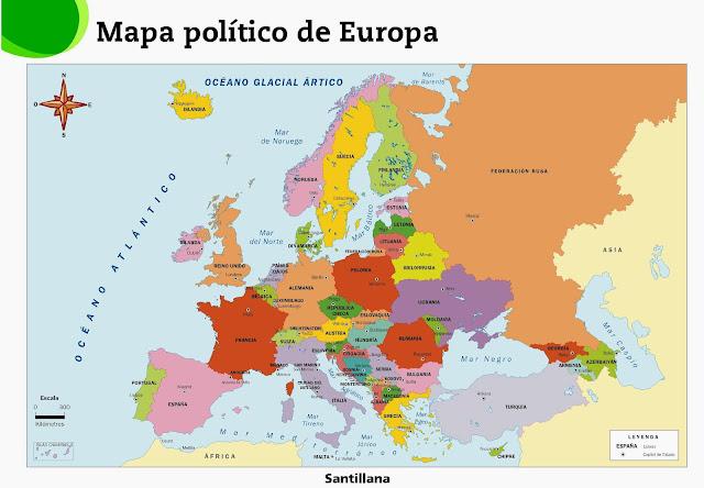 Resultado de imagen de europa mapa