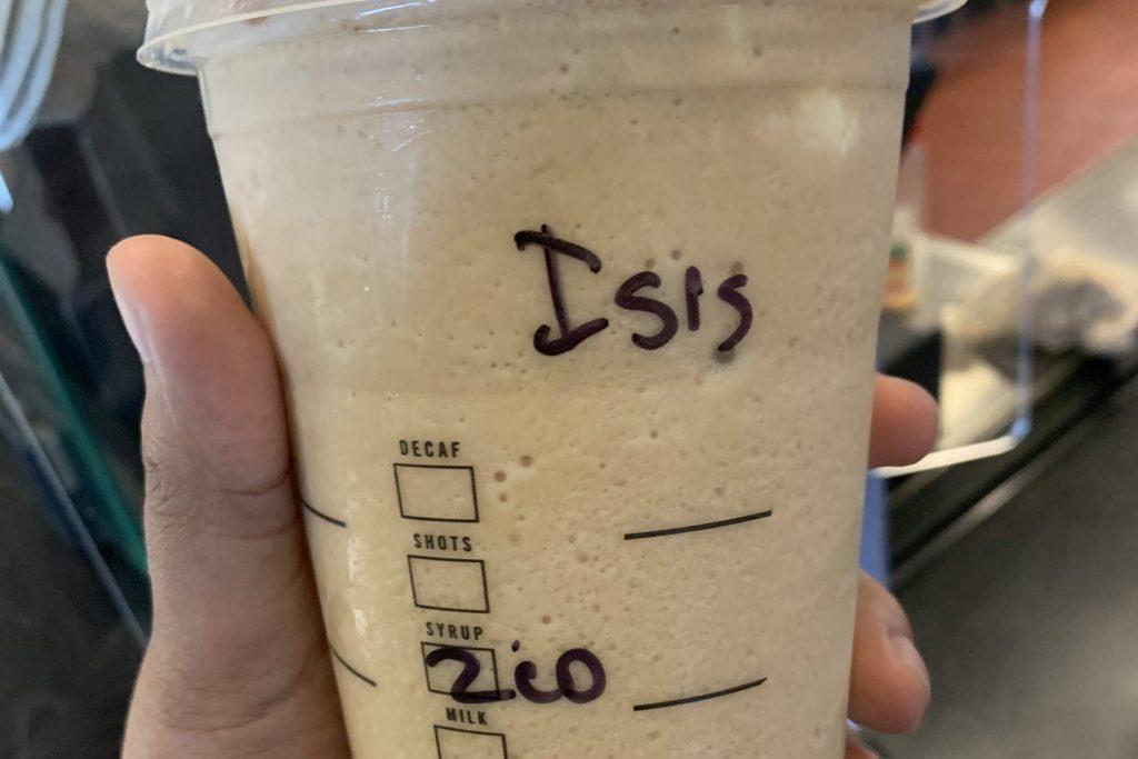 Muslimah Memesan Minuman Starbucks, Barista Menulis 'IS*S' di Cangkirnya