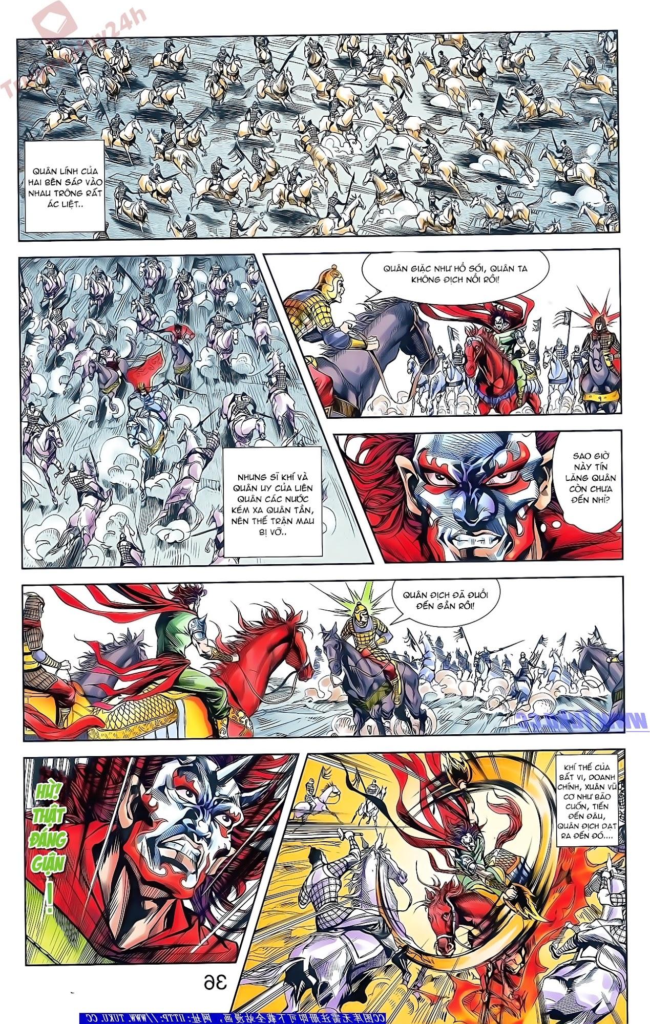 Tần Vương Doanh Chính chapter 48 trang 21