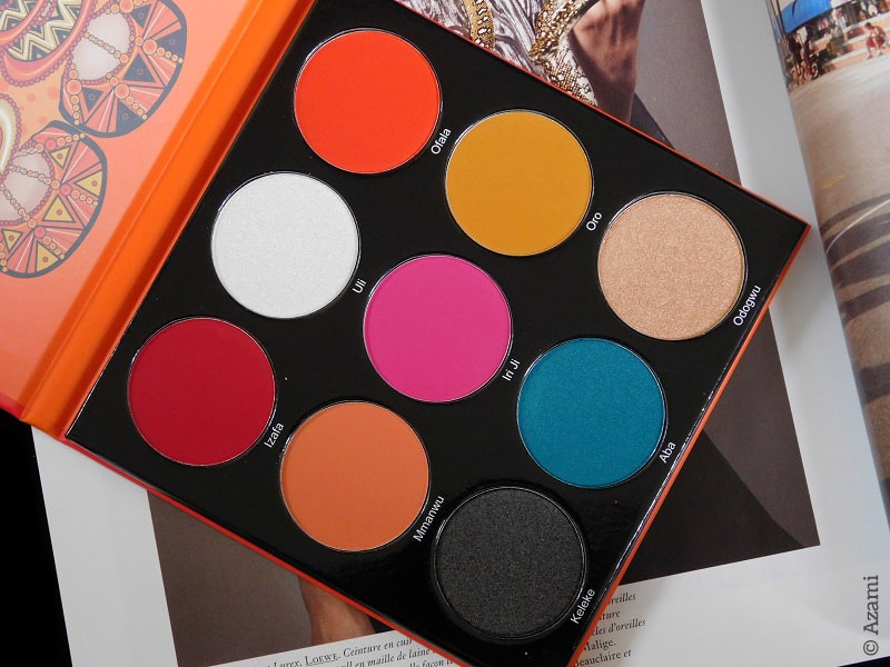 Juvia's Place | The Festival Palette Review & Swatches - Avis Test Revue - London Paris Makeup Artist - Beauty Blogger - Masquerade - Nubian 2 - Nubian 3 - Magic - Afrique - Tribe