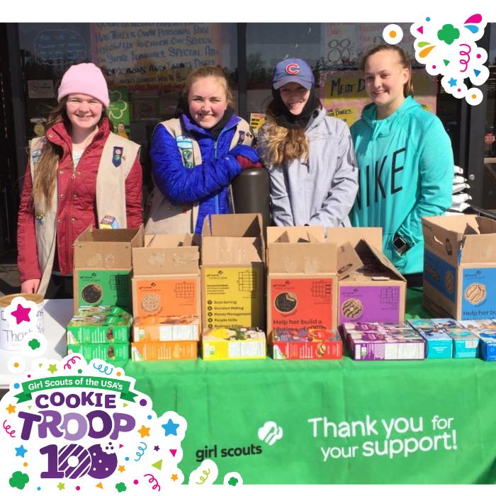 girl scout blog meet the cookie troop 100 winners