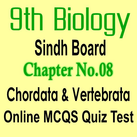 Biology MCQs Notes Sindh Board