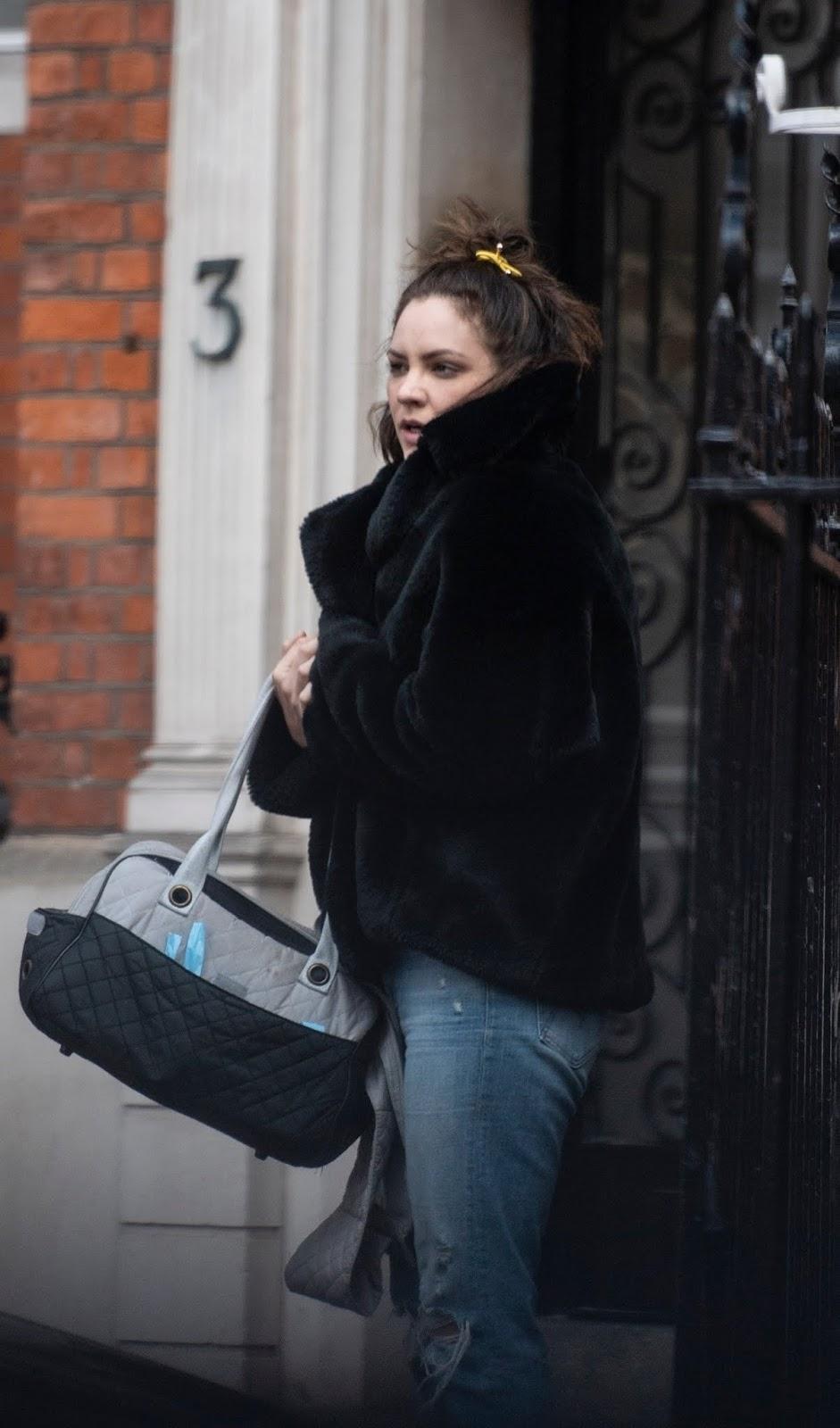 Katharine McPhee shopping in London – 03/12/2019