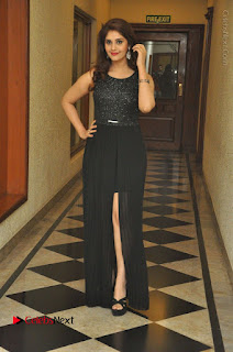 Actress Surabhi Stills in Black Long Dress at turodu Audio Launch  0077.JPG