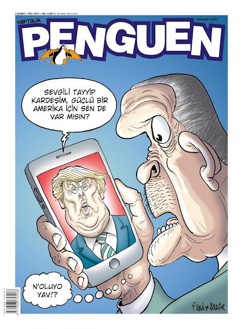 Penguen Dergisi | 2 Şubat 2017 Kapak Karikatürü
