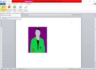 Cara Mengganti Background Foto dengan Microsoft Word 2007