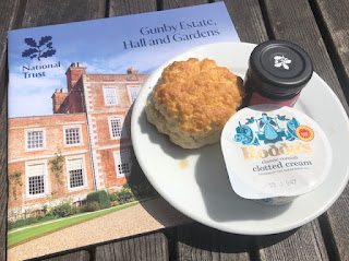 Gunby Hall scone