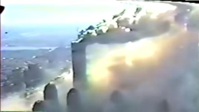 11η Σεπτεμβρίου: Το βίντεο από το ελικόπτερο που πέταξε λίγα μέτρα πάνω από τους Πύργους