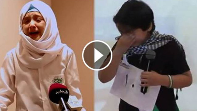 VIDEO: Bikin Nangis! Bocah Suriah Ini Bacakan Puisi Tentang Penderitaan Di Suriah