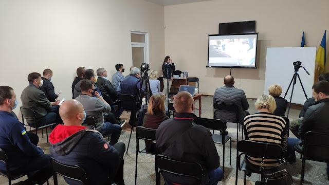 Презентація досвіду діяльності робочих груп у Донецькій області