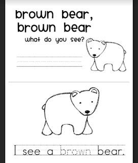 Back to School & Brown Bear Freebie!
