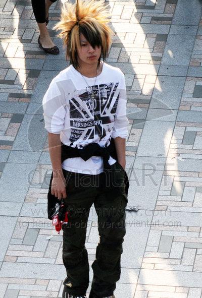 Harajuku Hair Style Harajuku Boy Harajuku Hair Style