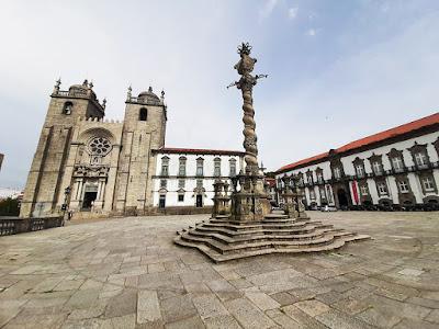 Catedral do Porto, pelourinho e terreiro da Sé