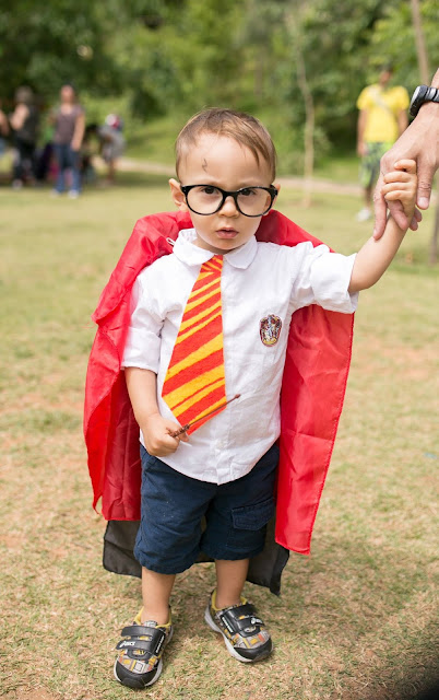 fantasia diy harry potter para menino halloween