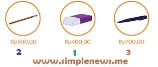Urutan harga barang dari yang paling murah www.simplenews.me