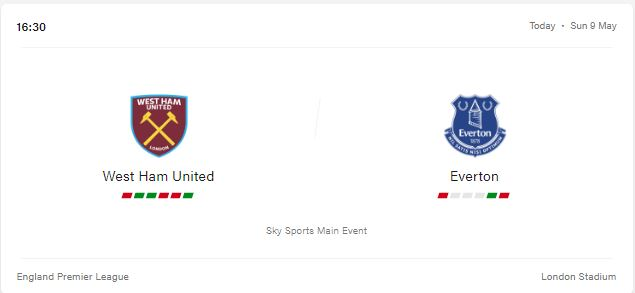 West Ham United vs Everton Preview and Prediction 2021