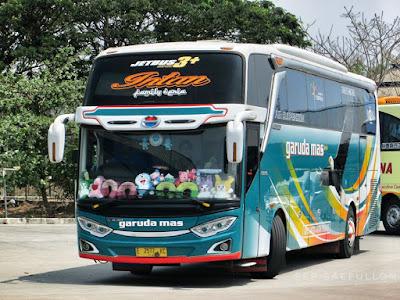 Foto Bus Garuda Mas Intan E7577KC