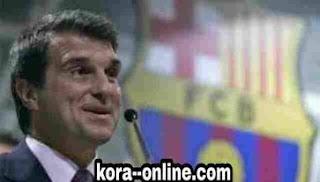 رئيس برشلونة القادم لابورتا متمسك بميسي وبرايثويت يكشف مصيره مع البلوجرانا