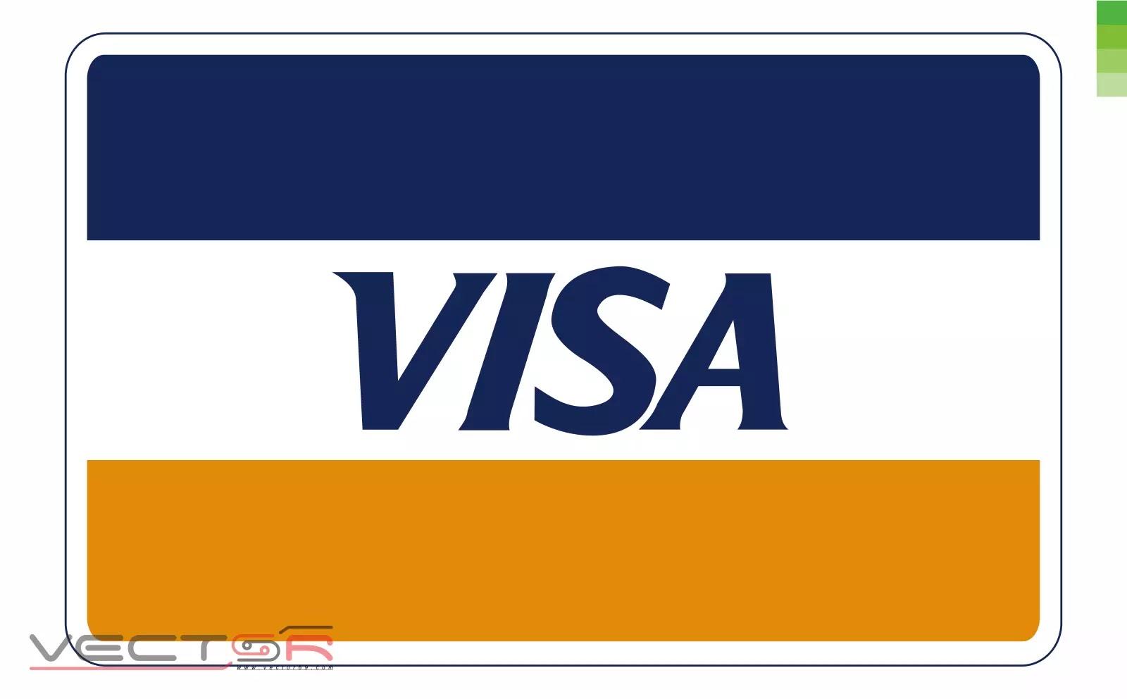 Visa (1976) Logo - Download Vector File CDR (CorelDraw)