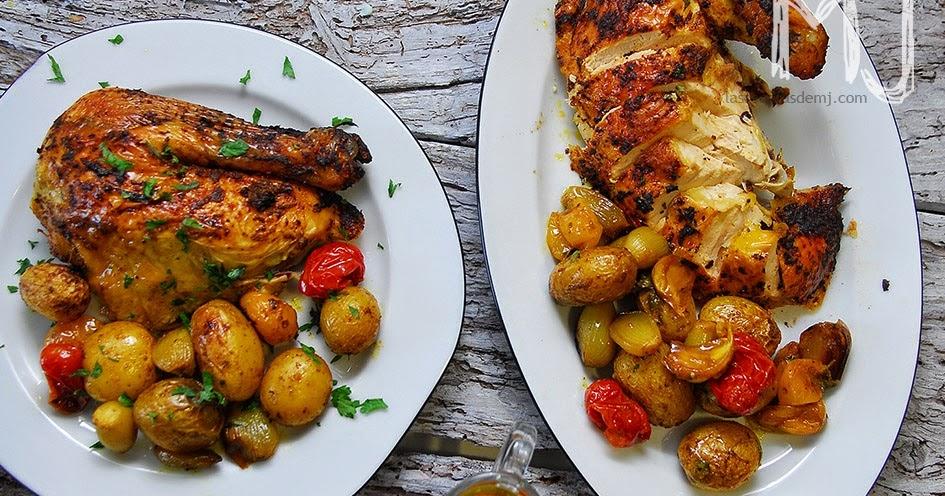 Pollo al horno al estilo jamie oliver videoreceta las for Cocina 5 ingredientes jamie oliver