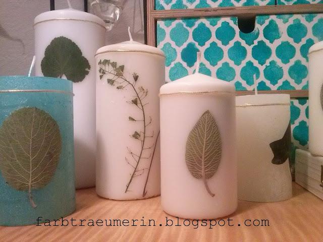 diy-kerze-ideen-mit-blueten-und-pflanzen-candle-with-pressed-flowers-and-plants