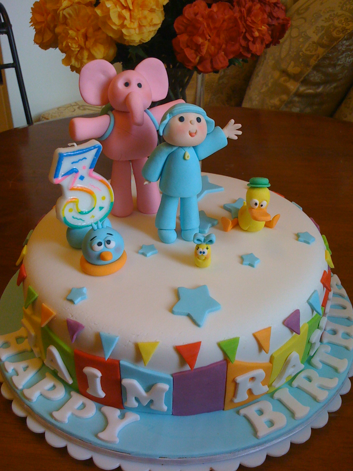 Cake Cupboard Pocoyo And Pals Cake