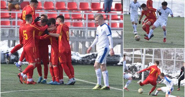 Fußball U19: Mazedonien gewinnt erstes Testspiel gegen Finnland