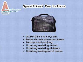 Spesifikasi tas lafirra