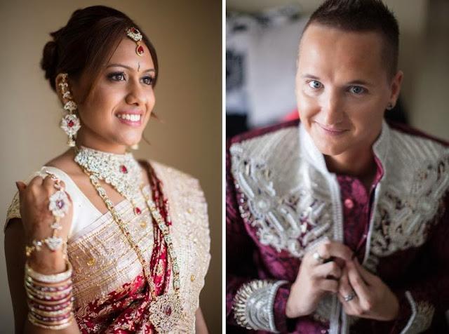 nice white sari