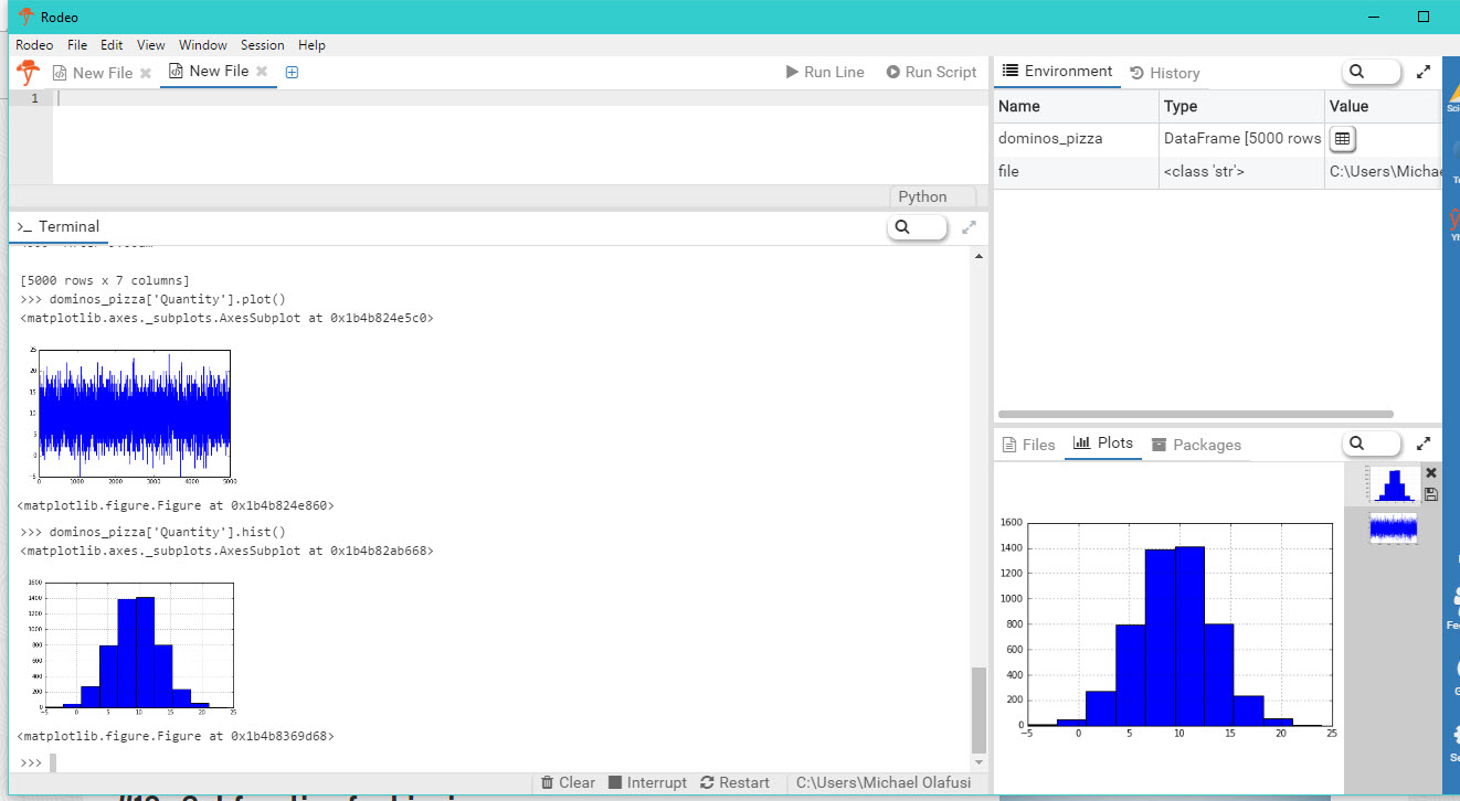 Urbizedge blog tutorial on creating a frequency distribution chart i will try to follow up with more tutorials of complex tasks and some that are best suited to r and others that are best suited to python as per excel ccuart Choice Image