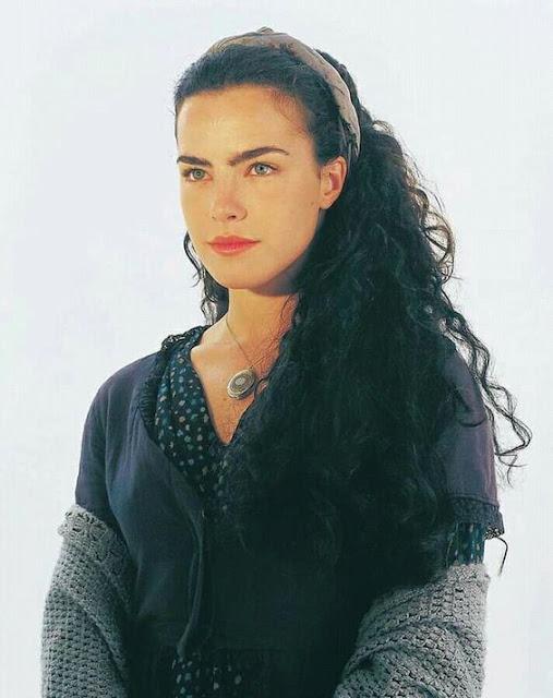 Juliana (Ana Paula Arósio) em Terra Nostra