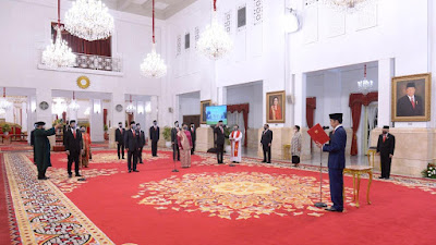Presiden Jokowi Lantik 12 Duta Besar Negara Sahabat