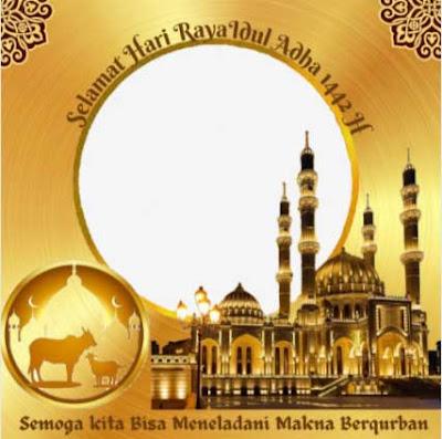 Twibbon Hari Raya Idul Adha 2021