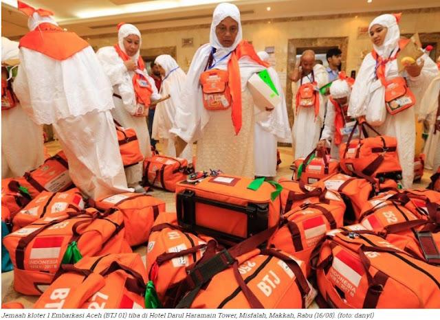 Sebanyak 4.393 Jemaah Haji Aceh mendapat Uang Sebesar SAR1200 dari Baitul Asyi dan Pengembalian Living Cost Sebersar SAR1.500