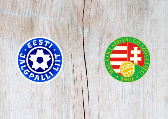 Estonia vs Hungary - Highlights 15 October 2018