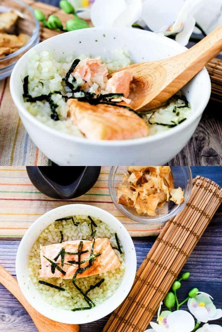 Japanese Salmon Breakfast Soup – Ochazuke