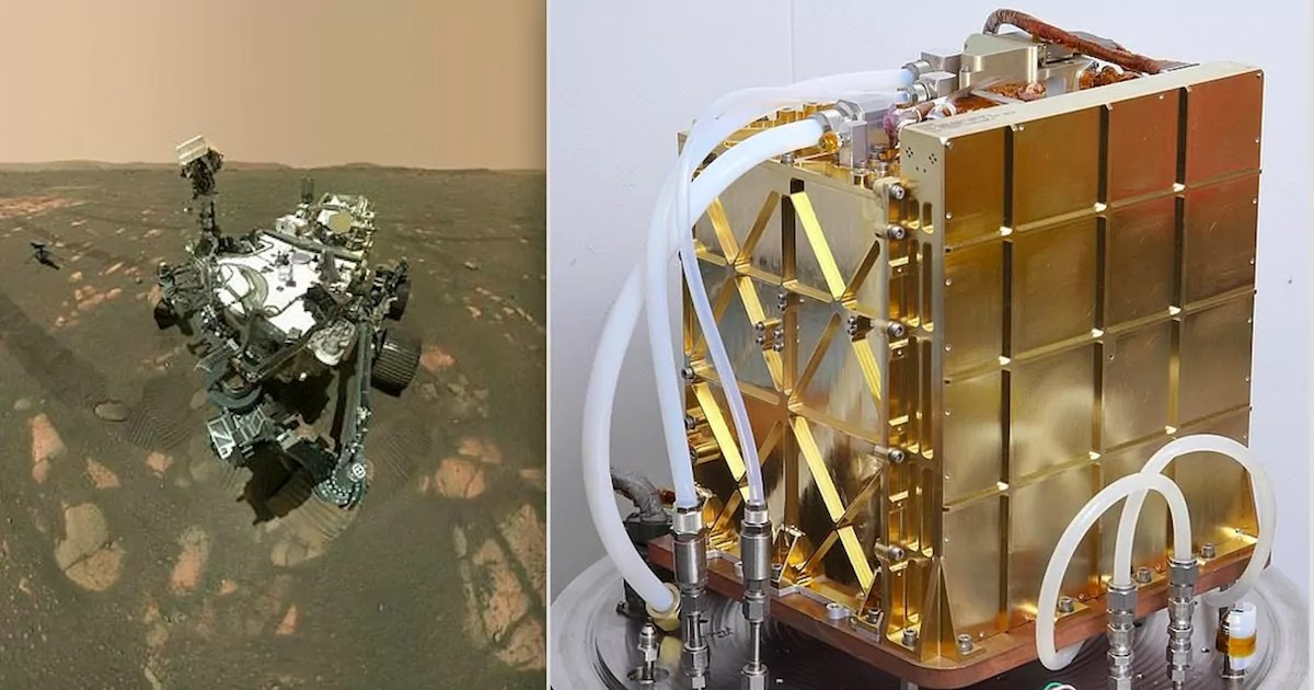NASA's Perseverance Rover Creates Oxygen On Mars For The First Time
