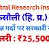 Central Research Institute Kasauli Recruitment 2019