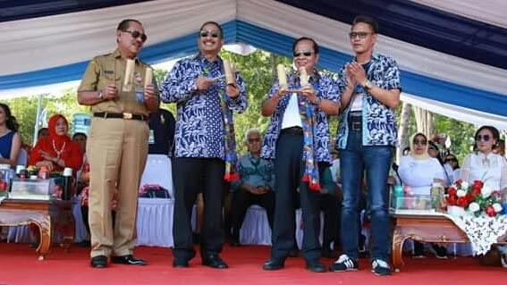 Menteri Pariwisata hadiri FPSL Kota Bitung ,Marinir Demontrasi Bebasankan Sandera