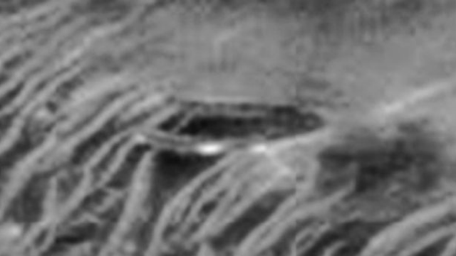 UFO evidence from the Mars Rovers cameras showing a real UFO on the side of the mountain.