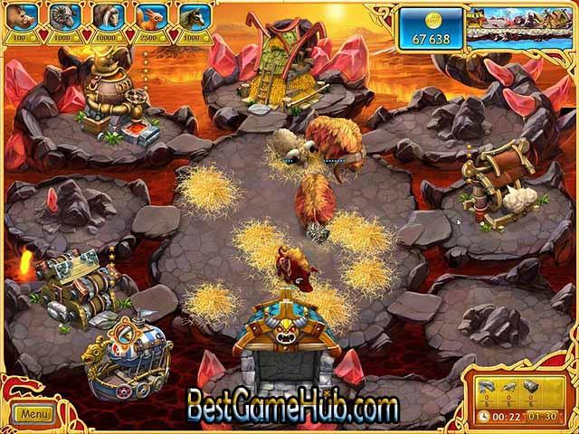 Farm Frenzy Viking Heroes PC Repack Game Free Download