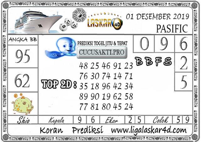 Prediksi Togel PASIFIC LASKAR4D 01 DESEMBER 2019