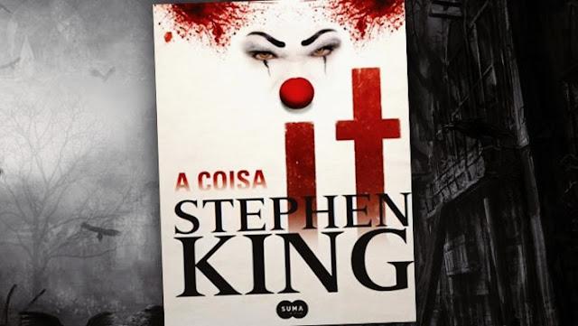 livros de terror, livros clássicos de terror, dicas de livros de terror, literatura de terror, it, a coisa, stephen king