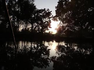 Village pond photo