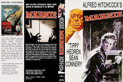 Carátula dvd: Marnie la ladrona (1964) - Cine Clásico Conecta2