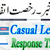 Human Resource Information Systems Casual Leave Response Time Online